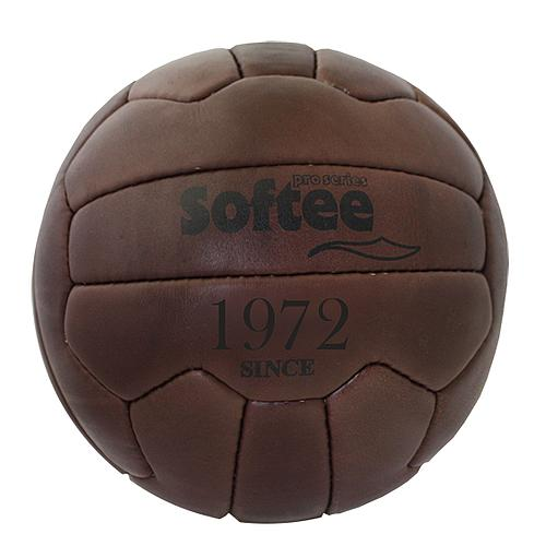 BALLON DE FOOTBALL VINTAGE CUIR NATUREL